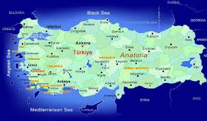 Mapa Turska Turisticka Agencija Neptun Tours Valjevo